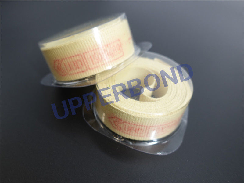 High Intensity Yellow Garniture Tape For Tobacco Machine